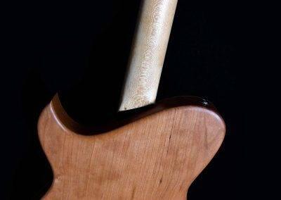 Rikkers Hybridline Hollowbody Custom Gitaar Achterkant Body