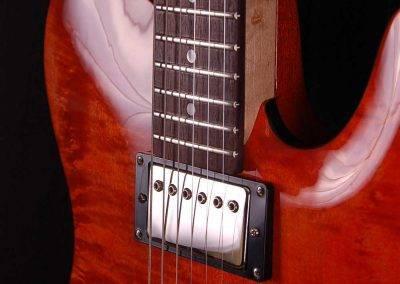 Rikkers Gitaar Telecaster Honduras Orange Achterkant voorkant body