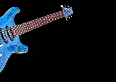 Custom gitaar afwerking