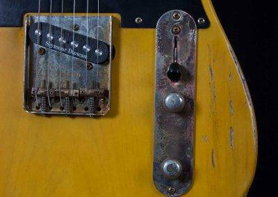 Rikkers Classicline Telecaster Relic Look Details