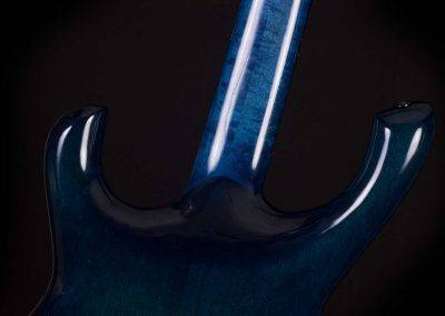 Rikkers Gitaarbouw Waveline Blue Mist AChter