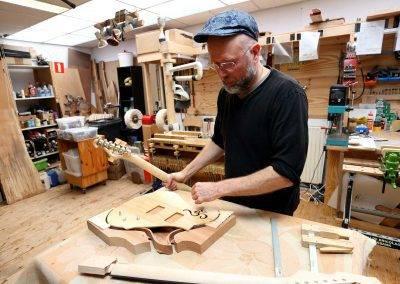 Rikkers Gitaarbouw Luthier Jacco Stuitje