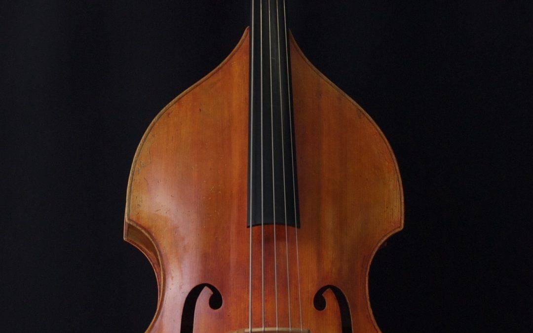 Dutch De Froe 5-string double bass