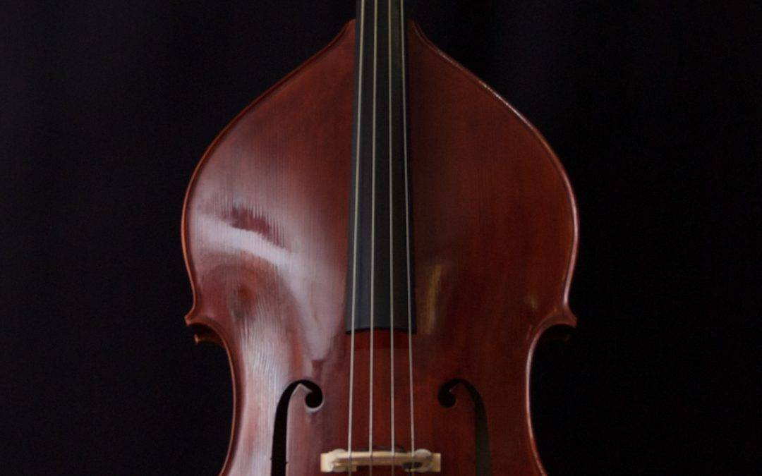 Chinese completely solid Double Bass