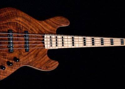 Rikkers Classicline Walnut/Birdseye Maple