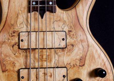 Rikkers bodyline Spalted Maple