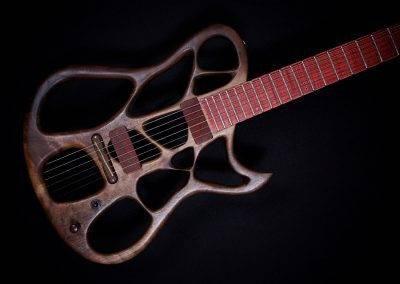 Rikkers Treeline Guitar Closeup