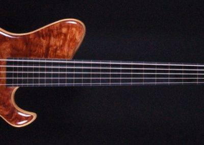 Hollowline fretless