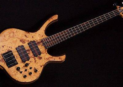 Bodyline Burl Maple 4 string