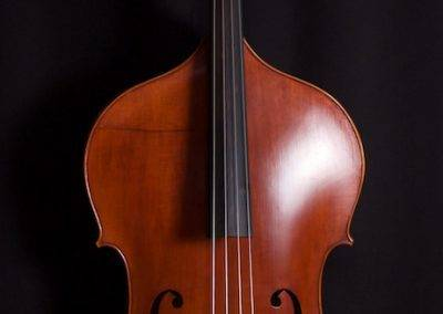 Panormo-model Double Bass Front