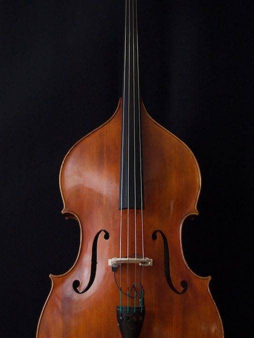Handmade Double Bass from Prague